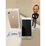 iPhone 7 128gb Dourado Seminovo Em Perfeito Estado