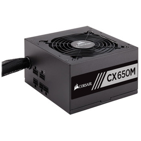 Fuente De Poder Pc 80 Plus Corsair Certificada Cx650m Rf