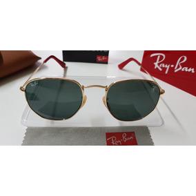 20f2c3c3dcfe3 Rayban Hexagonal Preto - Óculos De Sol Ray-Ban no Mercado Livre Brasil