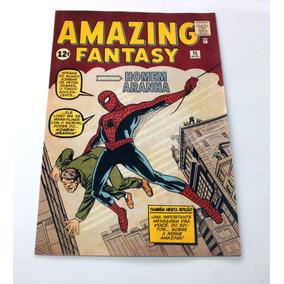 Homem-aranha Primeira Aparição Amazing Fantasy 15 - Hq Gibi