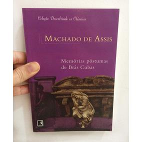 Livro Machado De Assis - Memórias Póstumas De Brás Cubas