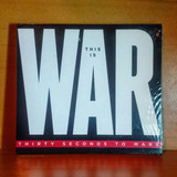 Thirty Seconds To Mars This Is War Cd + Dvd Original Nuevo