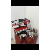 Maquina Estampadora Sublimadora 8 En 1 Tazas Gorros Platos