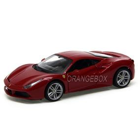 Ferrari 488 Gtb 1:32 Vermelho