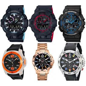 Relógio Casio G Shock, Tommy E Nautica. 580 Cada. Originais.