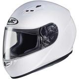 Casco Para Moto Hjc Solid Adult Cs-r3 Street - Blanco /...