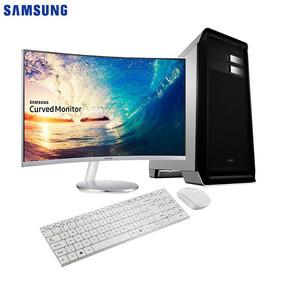 Computador Easypc Intel I7 16gb Ssd 3tb Monitor Samsung 27