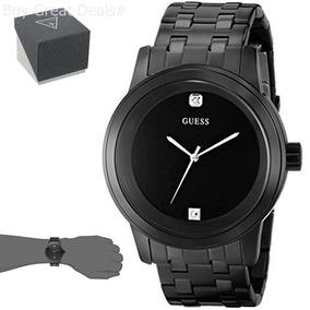 Guess Hombre Reloj Con Diamantes Relojes en Mercado Libre