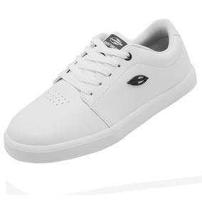 Tenis Feminino Skate Branco Promoção Mor21