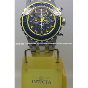25e87b49374 Relógio Masculino Prata Com Segundo Analógico Seculus. São Paulo · Invicta  Subaqua Titanio Cerâmica Aço 12778 Segunda Geração
