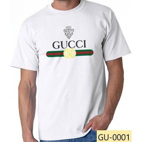 Playera Gucci Clásica Camiseta Algodón 100%