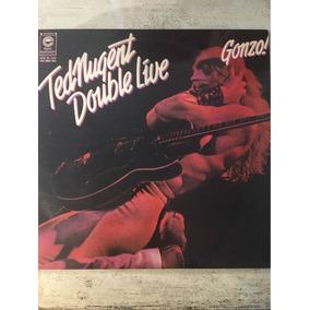 Ted Nugent Double Live Gonzo Disco Doble Vinilo