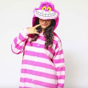 Pijama Mameluco Gato De Alicia Cheshire Xtreme