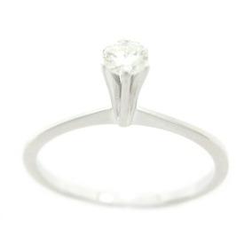a7b1d332ed490 Anel Chuveiro Ouro Branco Diamant Brilhante - Anel de Ouro no ...