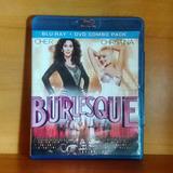 Christina Aguilera Cher Burlesque Blu Ray + Dvd Original