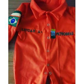 Macacão Petrobras Infantil Personalizado