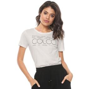 a1e50ee9e Camiseta Feminina Colcci Feminino - Calçados, Roupas e Bolsas no ...