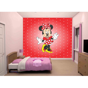 dc3471731a Adesivo De Parede Minnie Mouse M² Dmn06