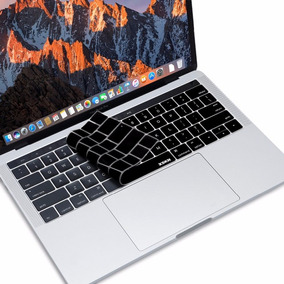 Capa De Silicone Protetor Teclado Touch Bar Apple