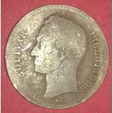 Moneda De Plata De 1 Bs De 1935 Bs 3.200._