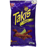 Nachos Tortillas Chip Takis Fuego Hot Chili Pepper Lima 280g