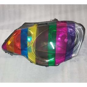 Película Adesivo Colorida P/ Lanterna E Farol Carros E Motos