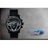 13f3142f8fe Relógio De Pulso Personalizado Painel Logo Ford New Fiesta 1