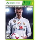 Fifa 18 Xbox 360 Fisico Nuevo Edicion Legacy