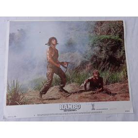 Foto Lobby Card - Stallone Rambo First Blood Part Ii