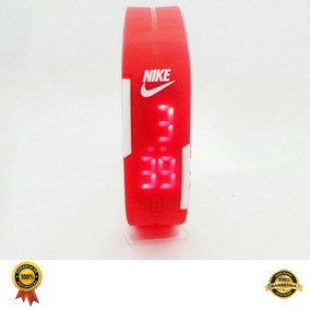 Relogio Nike Led Esportivo Pulseira Unissex Digital