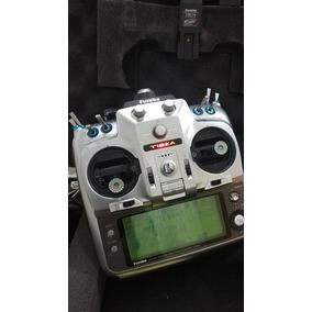 Rádio Futaba T12za + Módulo Tm14 Fasst + Módulo Mz-fm + 04rx