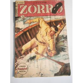 Zorro Nº 12 Abril 1963 2ª Série Editora Ebal Original