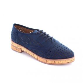 Zapato Para Mujer Rafael Ferrigno 78014-036287 Color Azul