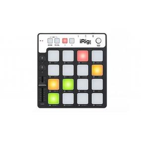Controlador Midi De Grooves Ik Multimedia Irig Pads Nf-e