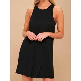 Vestido negro corto basico