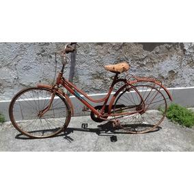 Bicicleta Feminina Monark Brisa Aro 26 P/ Restaurar