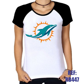 Nfl Camisa Feminina Miami Dolphins - Camisetas e Blusas no Mercado ... e1a13936b82