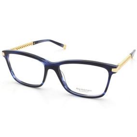 047dc1c528c16 Oculo De Grau Ana Hickman Azul Marinhoovos Modelos - Óculos no ...