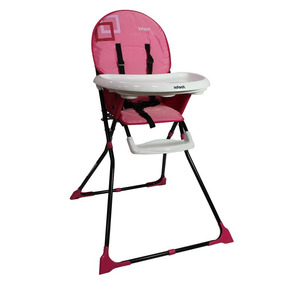 Silla Alta Link Pink Infanti