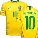 Camisa Seleção Brasileira Neymar Pronta Entrega No Brasil - Futebol ... c82b45ce9ee81