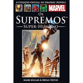 Revista Em Quadrinhos Os Supremos Super Humanos
