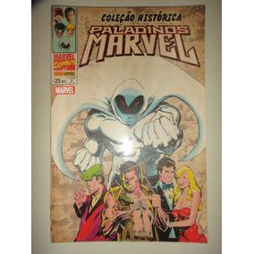Coleção Historica Paladinos Marvel 3 Cavaleiro Da Lua Lacrad