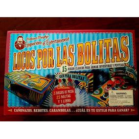 Juego De Mesa - Locos Por Las Bolitas - Cañazos, Rebotes, Et