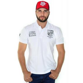 Camisa Polo Radade Classic City Branco Com Cinza 161837ae7fc7d