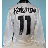 Camisa Corinthians Anos 1990 Kalunga Finta Manga Longa - L2 08664fa39c710