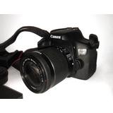 Canon Eos 750-d (rebel T6i) + 2 Lentes, 2 Memorias