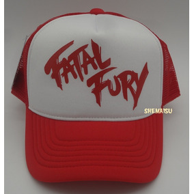 Boné Fatal Fury King Of Fighters Terry Bogard Trucker Cap 643b86cffe4