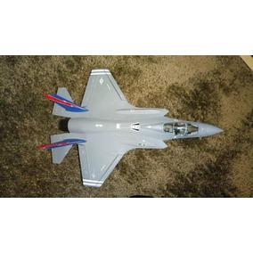 Avião De Metal F-35b Lighting Ii Jsf Miniatura Perfeita