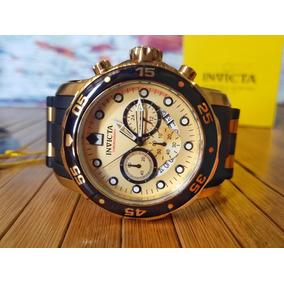 Reloj Invicta 17566 Pro Diver 18k Zafiro Original Caballero