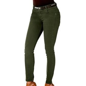 Jeans Rev 20204 Color Verde Dama Pv